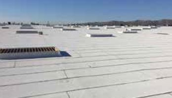 The Reflective Granulated Cap Sheet May Be Used As A Cap Or Flashing Sheet  In Built