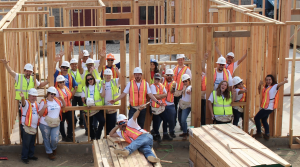 Antis Roofing encourages employees, business partners and customers to join its quarterly team build projects for Habitat for Humanity.