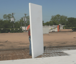 Composite products can help simplify insulation installation on high-traffic roofs.
