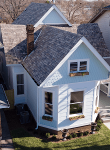 Since the roof is such a prominent exterior component, figuring out how it plays into the home's color palette is crucial. Photo: Owens Corning.