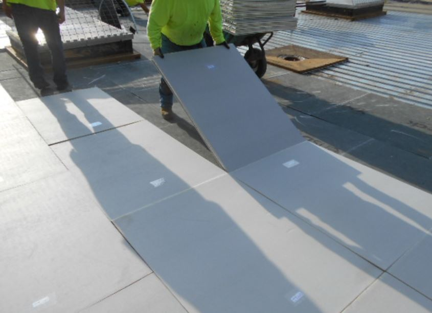 Because Rich E Board Roofing Insulation Is Light And Easy To Install, It