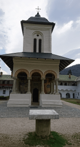 Photo 22. The old church of the Sinaia Monastery was adorned with a new copper roof. Photo: Ana-Maria Dabija.