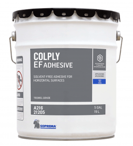 Soprema offers COLPLY EF adhesive