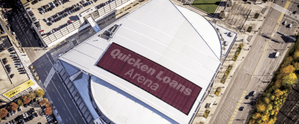 Roof Restoration Project Brings Back Luster to Quicken Loans Arena