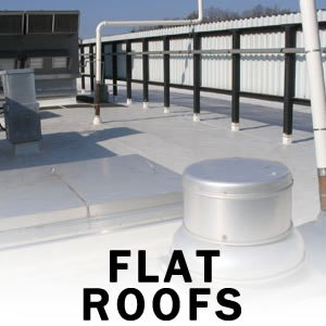 flat roof repair replacement