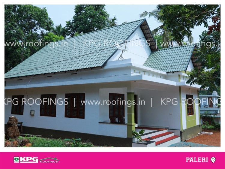 roof tile looking like shingles