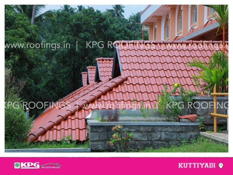 teracotta normal roof tile colour