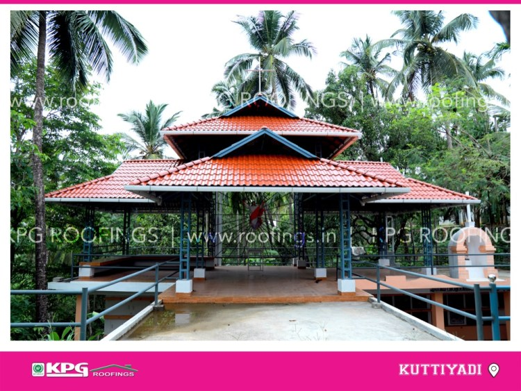 outdoor sitting park roof tile