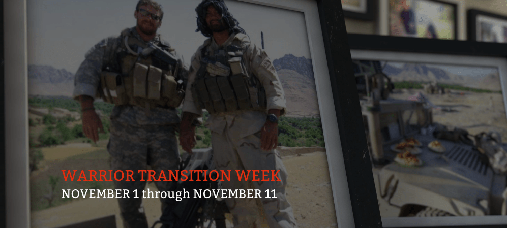 Where Will You Be During Military Transition Week?