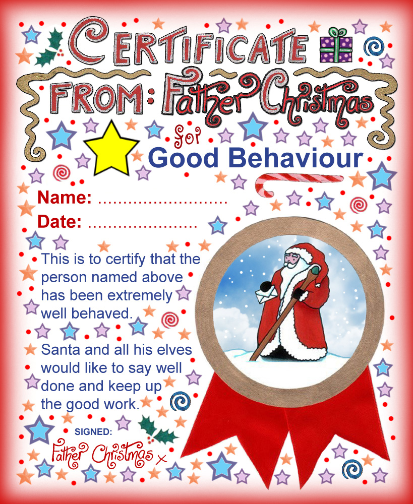santa-father-christmas-certificate-for-good-behaviour Vintage Letter From Santa Template on letter santa is not real, letter santa watching you pintrest, return santa letter template, santa elf cut out template, santa signature template, letter room mom ideas, letter from mrs claus, santa head template, coloring santa letter template, santa reply letter template, printable alphabet letter q template, large printable alphabet letter r template, letter to santa, letter santa claus signature, santa claus template, dear santa letter template, write santa a letter template, sign up sheet order form template, santa response letter template, santa letterhead template,