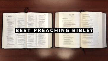 Best Preaching Bible? CSB Ultrathin Reference Bible vs CSB Pastor's Bible