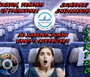 Sorteo Crazy Airlines