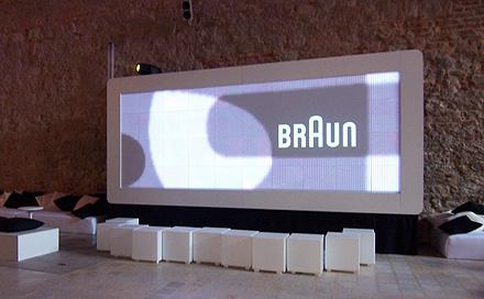 Creative Multimedia Branding Screen