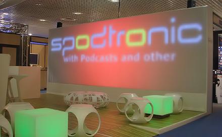 Room Division Messe Midem Cannes für SPODTRONIC