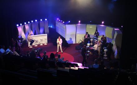 Lokalrunde Bühne zum TV Pilot Dreh im Admiralspalast
