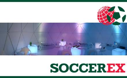Room Division und Zendome zur SOCCEREX 2007 South Africa