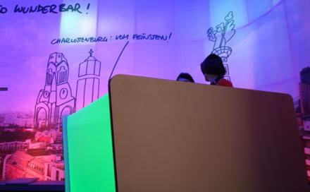 Room Division LED Bar für Berliner Pilsner zur Barzone