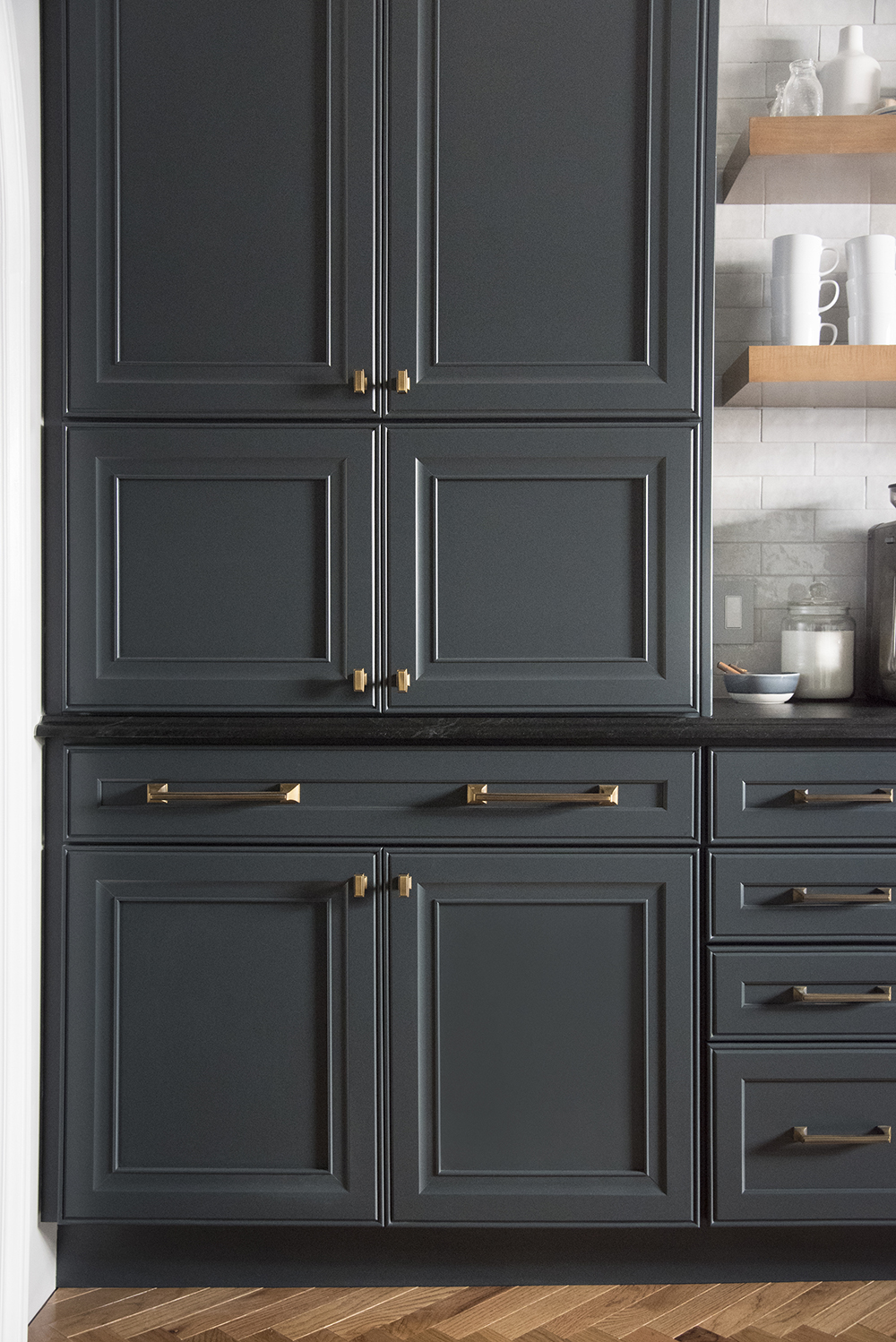 Large Pantry Cabinet In Dark Kitchen Room For Tuesday