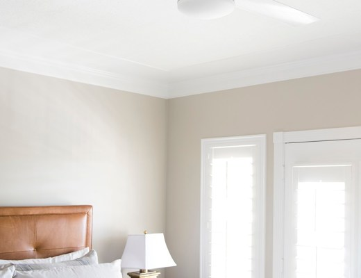 Roundup : White Ceiling Fans - roomfortuesday.com