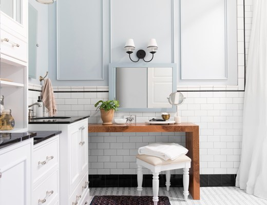 Look for Less : Our Guest Bath - roomfortuesday.com
