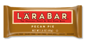 Don't get stuck in a middle seat feeling hangry for five hours flying coast to coast. Here my are my Six Ideas For Eating Healthy While Traveling Pecan Pie Lara Bar