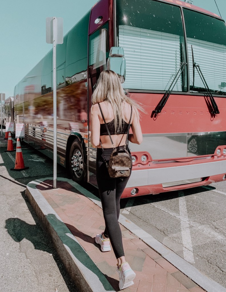 A Day In The Life On A Tour Bus Lacy Transeau
