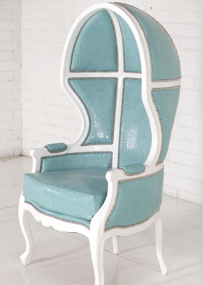 Wwwroomservicestorecom Balloon Chair In Aqua Croc