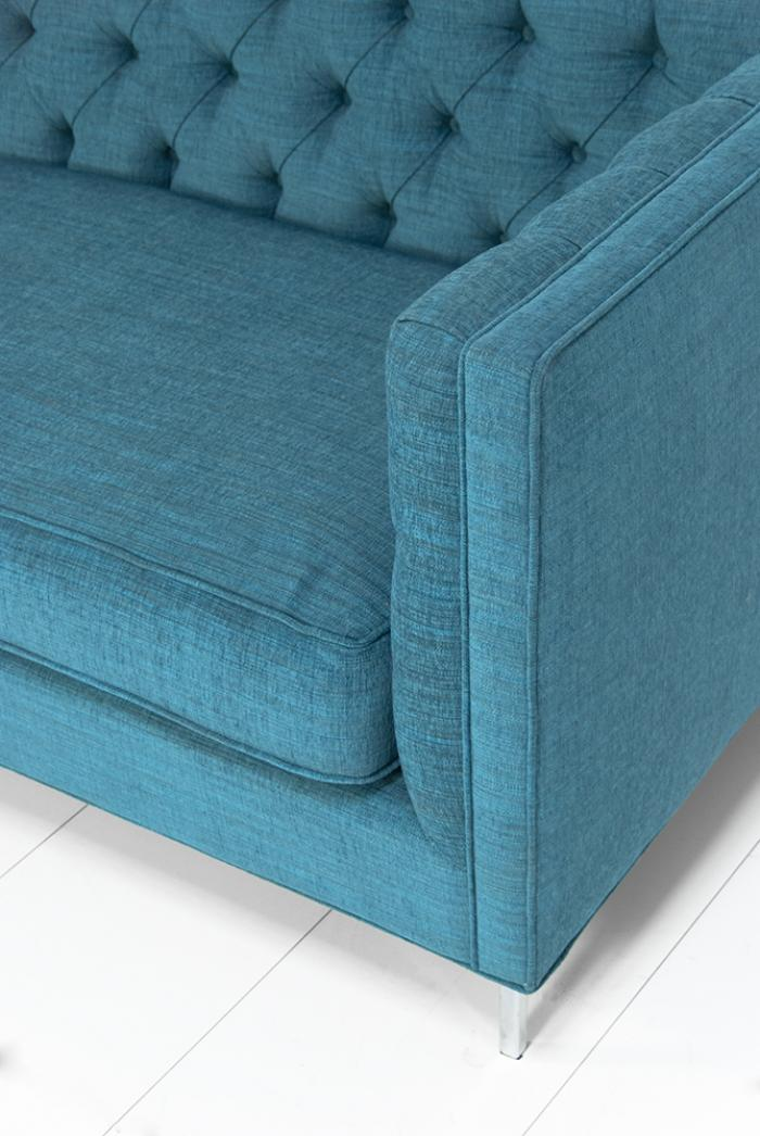 Wwwroomservicestorecom Tufted 007 Sofa In Turquoise