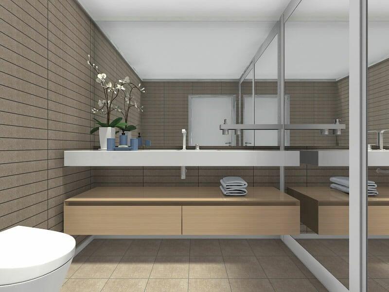 RoomSketcher Blog | 10 Small Bathroom Ideas That Work on Small Space Bathroom Ideas  id=73984