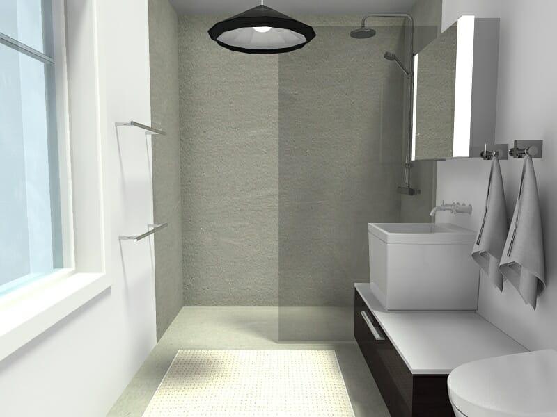 RoomSketcher Blog | 10 Small Bathroom Ideas That Work on Small Bathroom Ideas With Shower id=83076