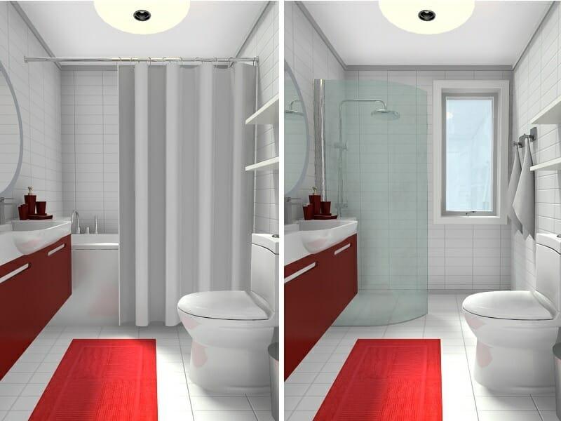 RoomSketcher Blog | 10 Small Bathroom Ideas That Work