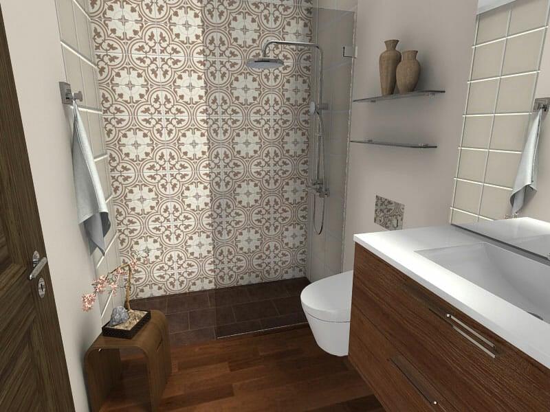RoomSketcher Blog | 10 Small Bathroom Ideas That Work on Small Bathroom Ideas With Shower id=27442