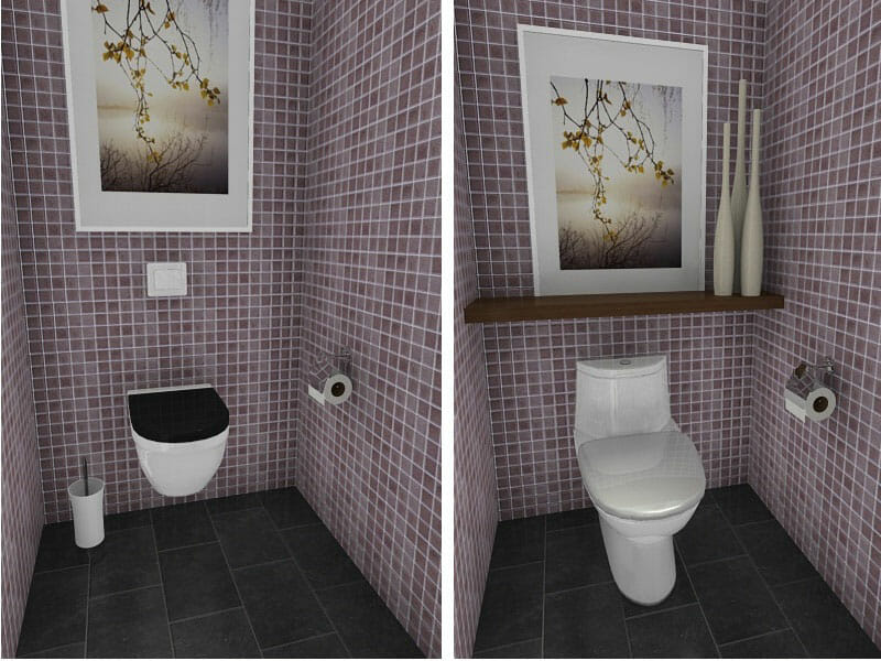 10 Small Bathroom Ideas That Work RoomSketcher Blog