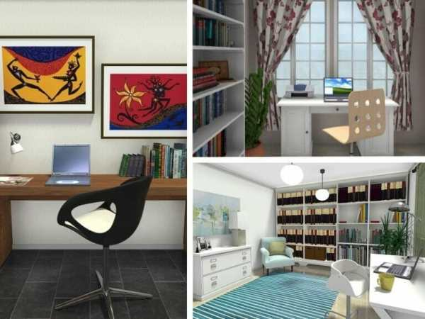 home office layout 9 Essential Home Office Design Tips | Roomsketcher Blog