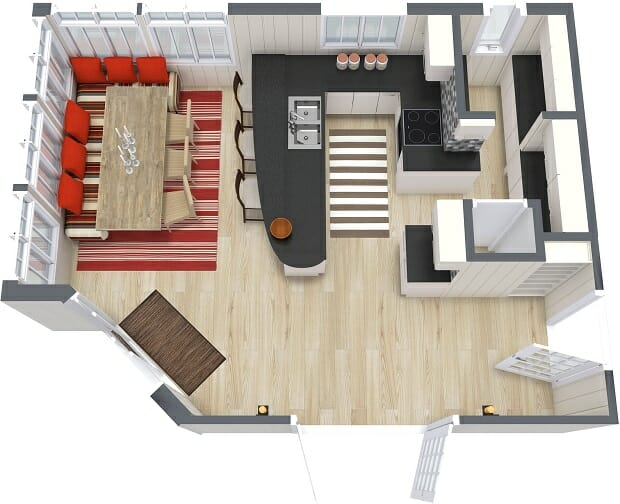 Online Kitchen Floor Plan Designer