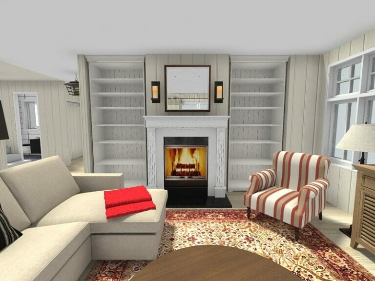 Living Room Ideas | RoomSketcher on Living Room Design Ideas  id=82607