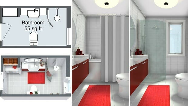Free 2d Bathroom Design Tool