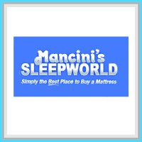 This is Mancini Sleepworld Sponsor square.