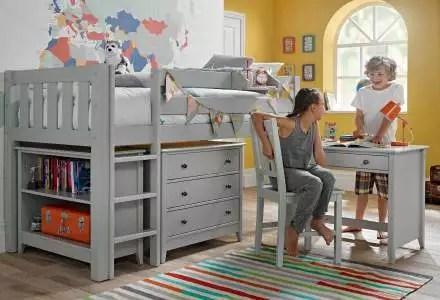Children S Cabin Beds Cabin Beds With Desk Storage Room To Grow