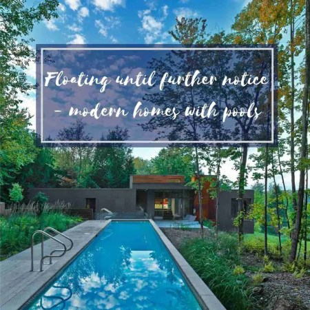 Roomy Home modern homes with pools
