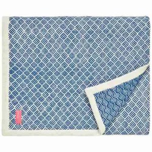 best buy throws Joules blue woven throw