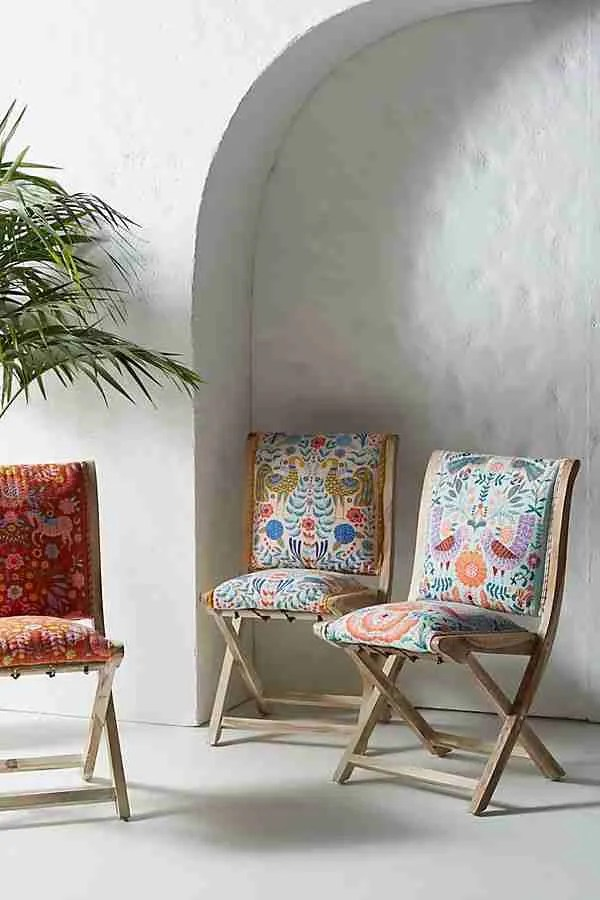 Jimena Terai chair Anthropologie