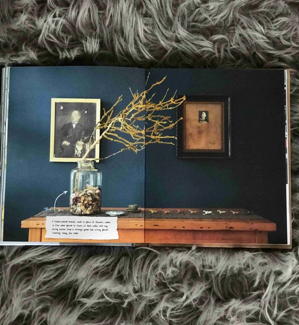 Instastyle Joanna Thornhill book review Roomy Home dark walls framed portrait