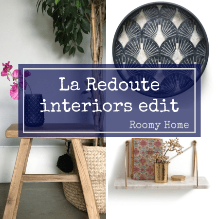 La Redoute homes interiors edit Roomy Home