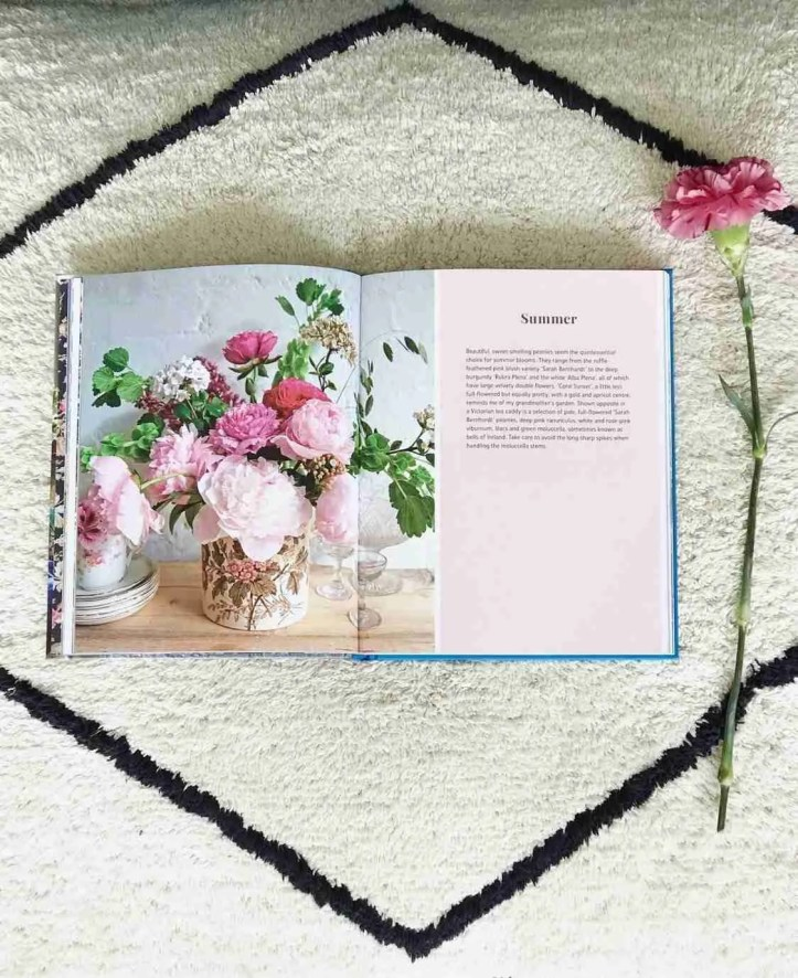 Flower Market Michelle Mason book review Roomy Home summer pages