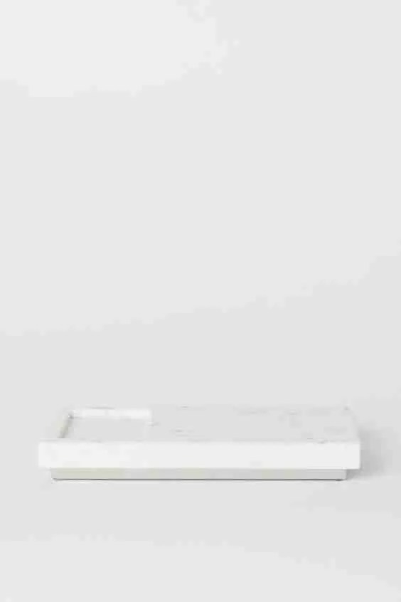 marble soap tray H&M