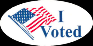 2013 - Logo - I Voted sticker