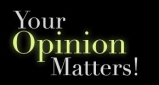 2013 - Logo - Your Opinion Matters!