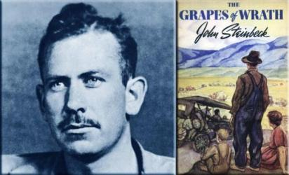 the undaunted journey in the story of grapes of wrath Segment from the documentary cars on route 66 dealing with the plight of the dust bowl okies as they migrated west on the mother road, as illustrated in john ford's classic film, the grapes of.