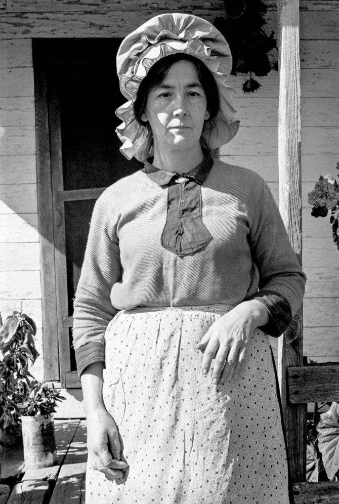 Mrs. Bailey Nicholson. Area of Shenandoah National Park, Virginia. 1935.